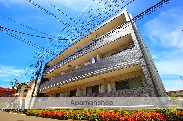 埼玉県富士見市、みずほ台駅徒歩4分の築6年 3階建の賃貸マンション