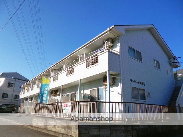 埼玉県富士見市、みずほ台駅徒歩12分の築25年 2階建の賃貸アパート
