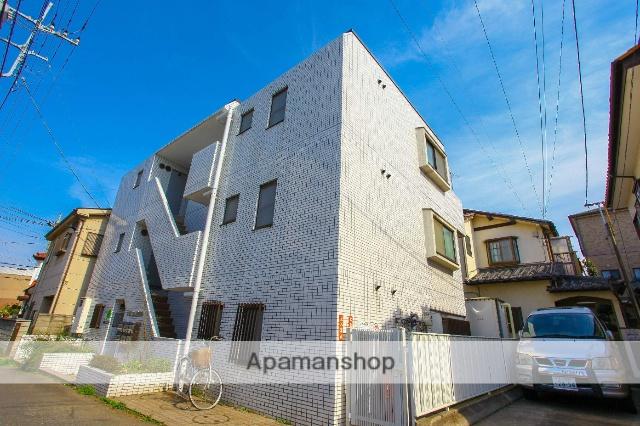 埼玉県川越市、新河岸駅徒歩17分の築27年 3階建の賃貸マンション