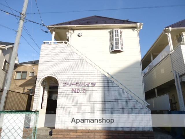 埼玉県ふじみ野市、鶴瀬駅徒歩59分の築28年 2階建の賃貸アパート