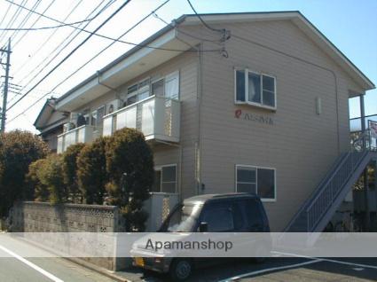 埼玉県川越市、新河岸駅徒歩14分の築23年 2階建の賃貸アパート