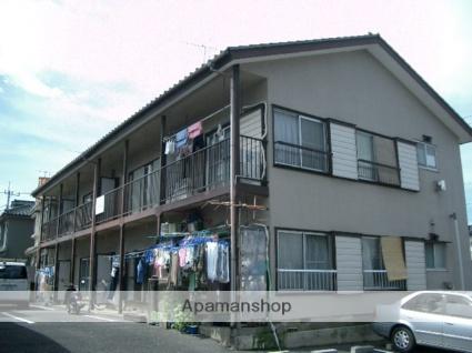 埼玉県富士見市、鶴瀬駅徒歩15分の築43年 2階建の賃貸アパート