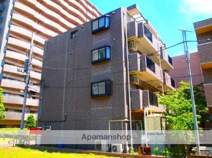 埼玉県富士見市、ふじみ野駅徒歩3分の築18年 4階建の賃貸マンション