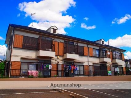 埼玉県ふじみ野市、ふじみ野駅徒歩17分の築28年 2階建の賃貸アパート