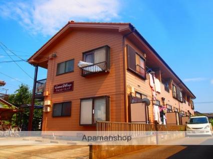 埼玉県ふじみ野市、鶴瀬駅徒歩32分の築24年 2階建の賃貸アパート