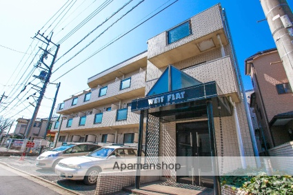 埼玉県ふじみ野市、上福岡駅徒歩10分の築28年 3階建の賃貸マンション