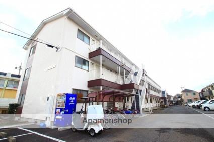 埼玉県富士見市、鶴瀬駅徒歩17分の築22年 3階建の賃貸マンション