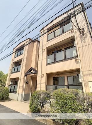 埼玉県富士見市、ふじみ野駅徒歩16分の築24年 3階建の賃貸マンション