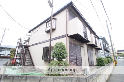 埼玉県新座市、志木駅徒歩11分の築28年 2階建の賃貸アパート