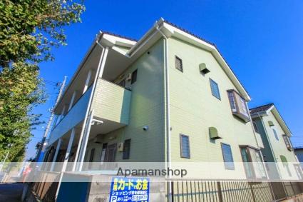 埼玉県川越市、上福岡駅徒歩14分の築24年 2階建の賃貸アパート