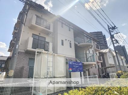 埼玉県富士見市、ふじみ野駅徒歩7分の築21年 3階建の賃貸マンション