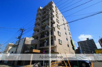 埼玉県富士見市、鶴瀬駅徒歩34分の築15年 8階建の賃貸マンション