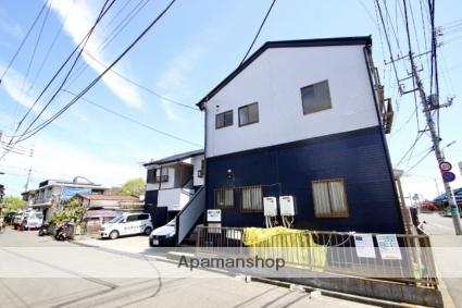 埼玉県ふじみ野市、上福岡駅西武バスバス5分赤沼下車後徒歩4分の築25年 2階建の賃貸アパート