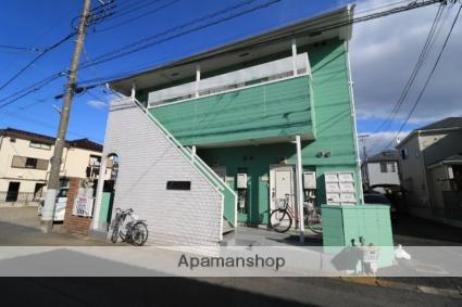 埼玉県川越市、上福岡駅徒歩14分の築30年 2階建の賃貸アパート