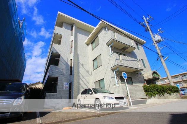 埼玉県富士見市、みずほ台駅徒歩4分の築24年 4階建の賃貸マンション
