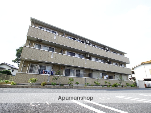 埼玉県朝霞市、北朝霞駅徒歩18分の築7年 3階建の賃貸アパート