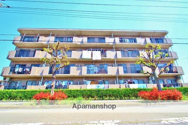 埼玉県富士見市、みずほ台駅徒歩10分の築23年 4階建の賃貸マンション