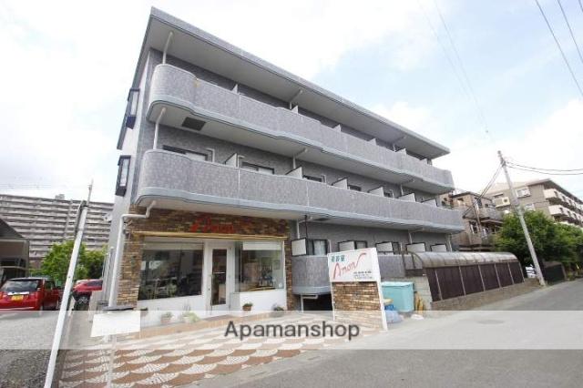 埼玉県富士見市、鶴瀬駅徒歩40分の築19年 3階建の賃貸マンション