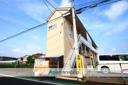埼玉県志木市、志木駅徒歩17分の築25年 2階建の賃貸アパート