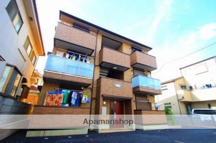 埼玉県新座市、新座駅徒歩19分の築5年 3階建の賃貸アパート