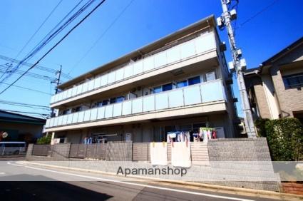 埼玉県朝霞市、北朝霞駅徒歩21分の築6年 3階建の賃貸アパート