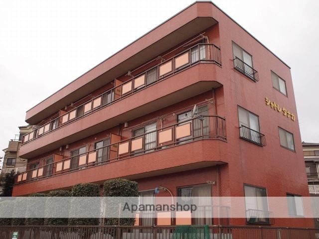 埼玉県富士見市、みずほ台駅徒歩12分の築30年 3階建の賃貸マンション