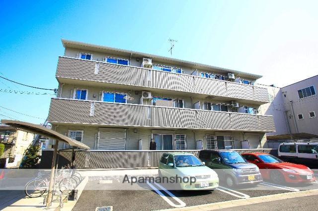 埼玉県富士見市、志木駅徒歩41分の築5年 3階建の賃貸アパート