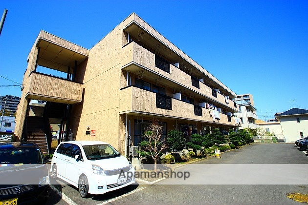 埼玉県富士見市、鶴瀬駅徒歩30分の築22年 3階建の賃貸マンション