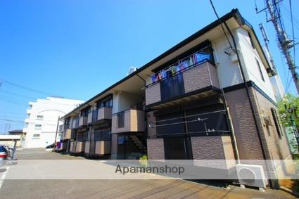 埼玉県ふじみ野市、鶴瀬駅徒歩24分の築22年 2階建の賃貸アパート