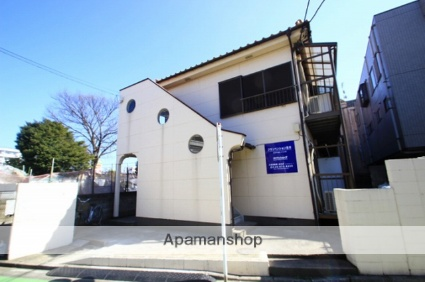 埼玉県志木市、志木駅徒歩10分の築28年 2階建の賃貸アパート