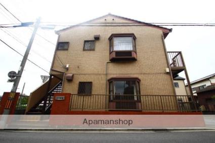 埼玉県ふじみ野市、ふじみ野駅徒歩17分の築25年 2階建の賃貸アパート