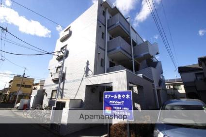 埼玉県川越市、上福岡駅徒歩15分の築27年 4階建の賃貸マンション