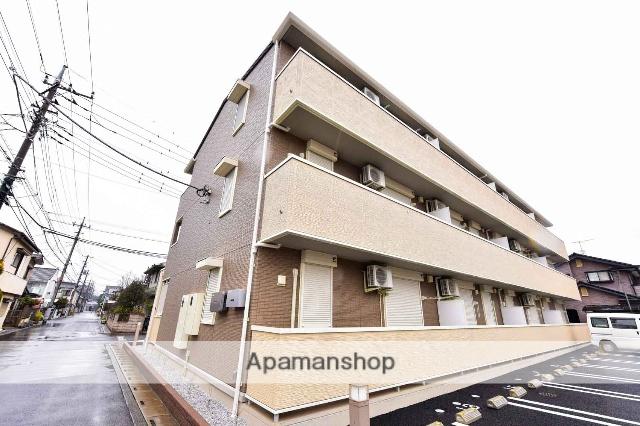 埼玉県川越市、上福岡駅徒歩15分の築2年 3階建の賃貸アパート