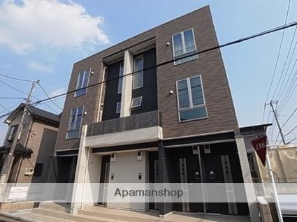 埼玉県ふじみ野市、鶴瀬駅の築2年 3階建の賃貸アパート