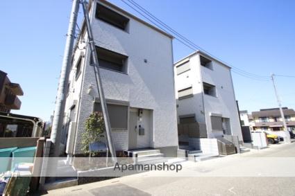 埼玉県富士見市、ふじみ野駅徒歩6分の新築 3階建の賃貸アパート