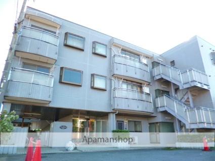 埼玉県朝霞市、北朝霞駅徒歩18分の築23年 2階建の賃貸マンション
