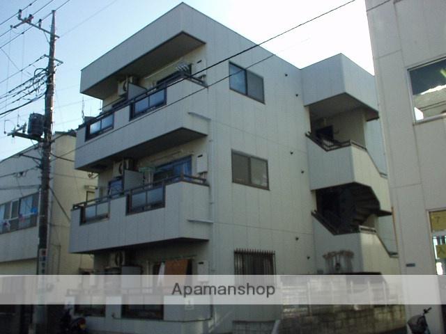 埼玉県朝霞市、朝霞駅徒歩3分の築24年 3階建の賃貸マンション