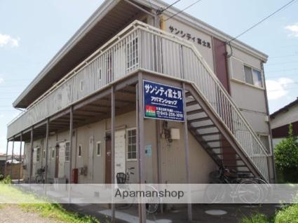 埼玉県富士見市、鶴瀬駅徒歩10分の築30年 2階建の賃貸アパート
