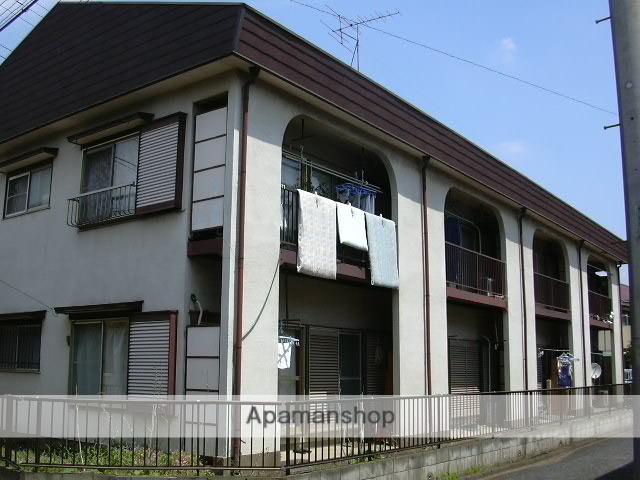 埼玉県富士見市、みずほ台駅徒歩24分の築29年 2階建の賃貸アパート