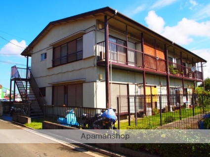 埼玉県富士見市、みずほ台駅徒歩23分の築44年 2階建の賃貸アパート