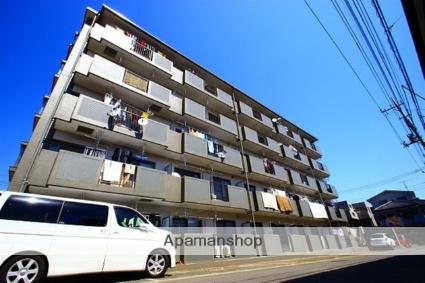 埼玉県富士見市、鶴瀬駅徒歩30分の築20年 5階建の賃貸マンション