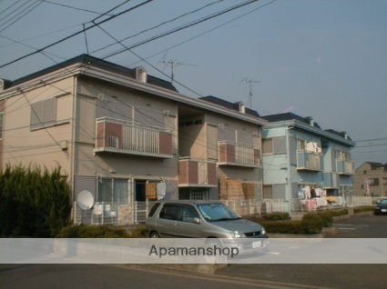 埼玉県富士見市、鶴瀬駅徒歩17分の築28年 2階建の賃貸アパート