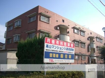 埼玉県ふじみ野市、上福岡駅徒歩17分の築33年 3階建の賃貸マンション