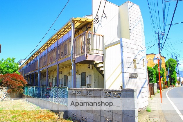 埼玉県富士見市、みずほ台駅徒歩28分の築30年 2階建の賃貸アパート