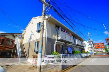 埼玉県富士見市、みずほ台駅徒歩6分の築29年 2階建の賃貸アパート