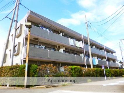 埼玉県富士見市、柳瀬川駅徒歩17分の築22年 3階建の賃貸マンション