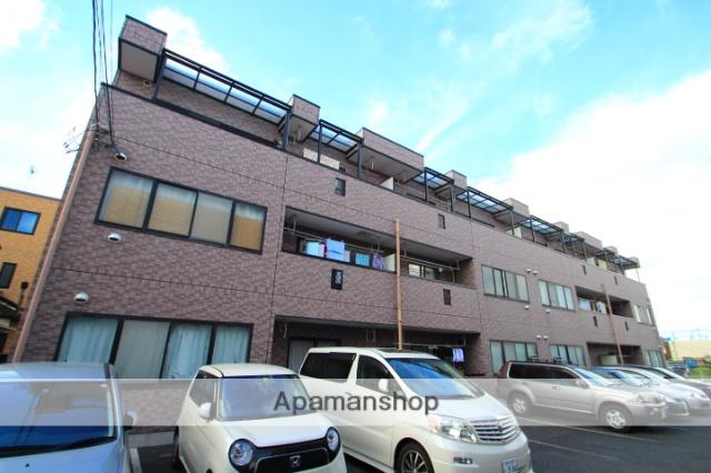 埼玉県朝霞市、北朝霞駅徒歩17分の築14年 3階建の賃貸マンション