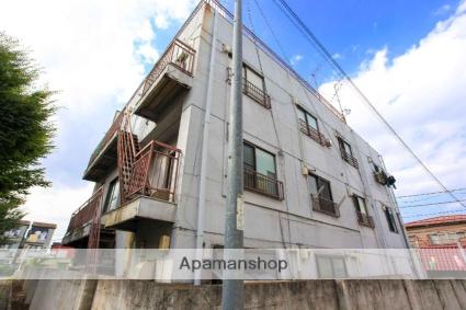 埼玉県ふじみ野市、上福岡駅徒歩4分の築44年 3階建の賃貸マンション