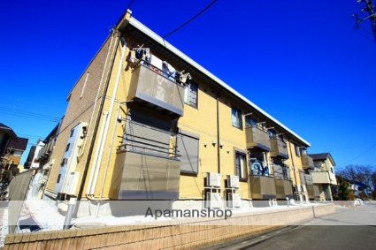 埼玉県富士見市、ふじみ野駅徒歩10分の築8年 2階建の賃貸アパート