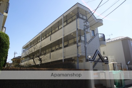 埼玉県川越市、ふじみ野駅徒歩30分の築28年 3階建の賃貸マンション